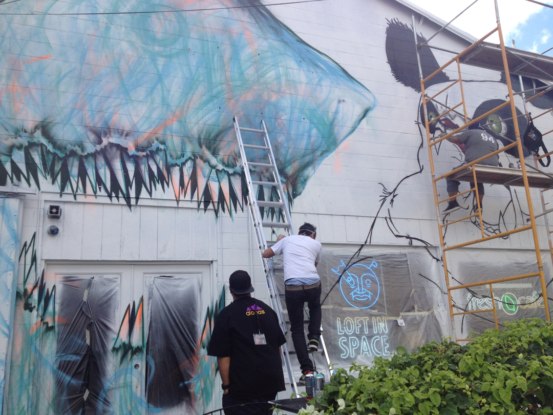 Pow Wow 2013 collaboration by East3