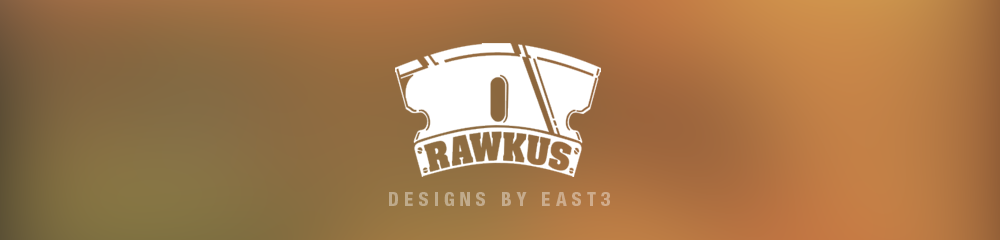 Rawkus Records designs by East 3